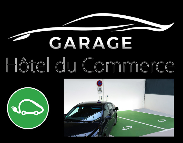 Garage Hôtel du Commerce Saint-Gaudens Borne de Recharge