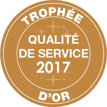 Or qualité service 2017