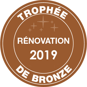 Trophy for the Best Renovation 2019